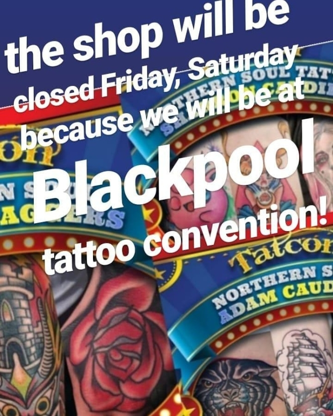 Studio close this weekend | Sharron Caudill, Resident Tattoo